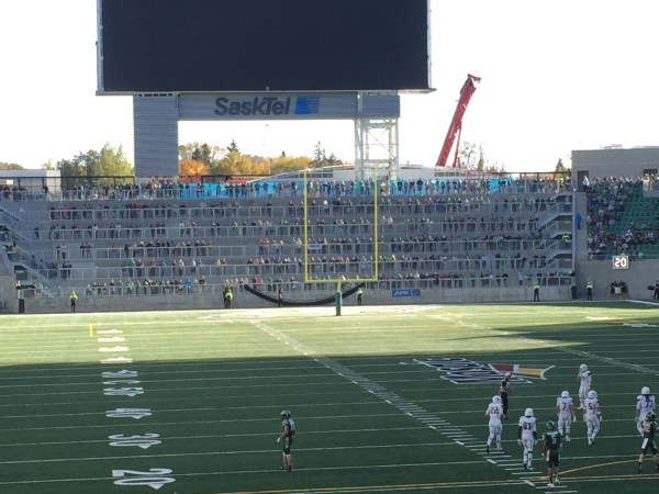 Terrace at New Mosaic Stadium