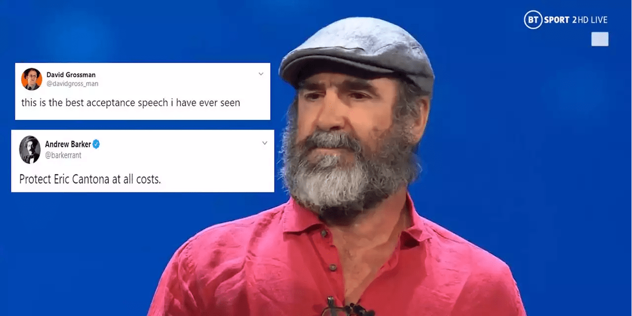 Unfortunately, the killings and wars will be much more. Eric Cantona S Bizarre Speech At Uefa Awards Left Just About Everyone Baffled