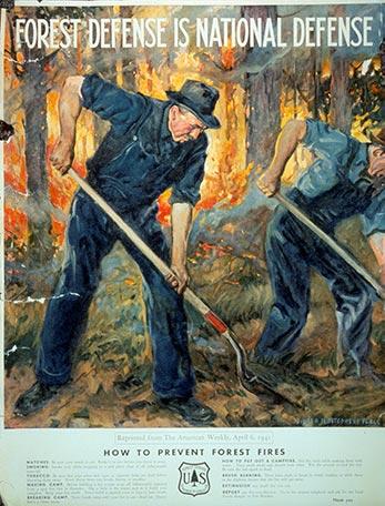 USFS fire prevention campaign.