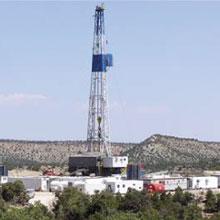 drilling rig in Utah