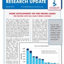 Headwaters Economics Newsletter cover- Jan 2008