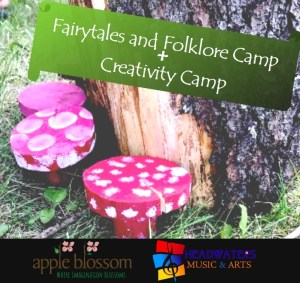 Fairytales and Folklore Camp + Music Creativity Camp