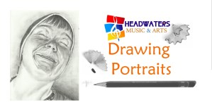 Drawing Portraits (4 Session Workshop) @ Headwaters Music and Arts   Bemidji   Minnesota   United States