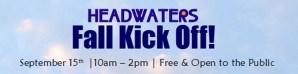 Fall Kick-Off! @ Headwaters Music & Arts | Bemidji | Minnesota | United States