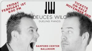 Deuces Wild! Dueling Pianos with Michael Shynes @ Sanford Center | Bemidji | Minnesota | United States