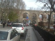 Aqueduct with playground