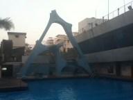 3 tiered diving platform, Khar gymkhana
