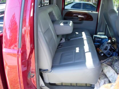 2003 Ford F-250-550 Super Crew XLT Bench with Armrest Seat Covers