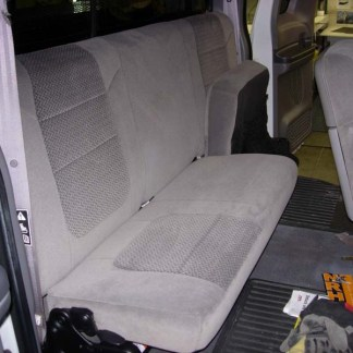 1999 - 2007 Ford F-250-550 Super Cab 40/60 Bottoms Bench Top Seat Covers