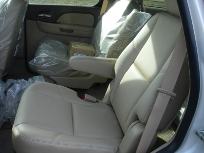 2007 - 2014 GMC Yukon Middle Row Bucket Seat Covers