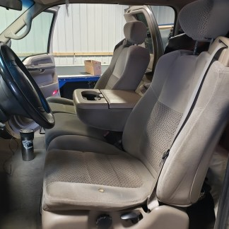 2001 - 2007 Ford F-250-550 Super Cab XLT 40/20/40 with Integral Seat Belt Seat Covers