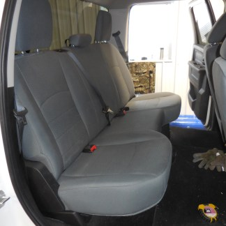 2013 - 2021 RAM Quad Rear Solid Bench Seat Covers