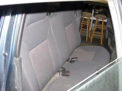 2004 - 2012 Chevy Colorado Crew 60/40 Rear Seat Covers