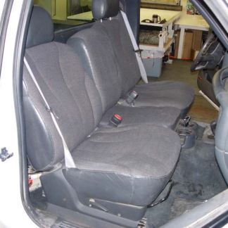 1999 - 2002 Chevy/GMC 40/20/40 Non-Folding Middle Top Seat Covers