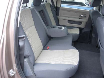 2009 - 2010 RAM Crew Rear 40/60 with Armrest Seat Covers