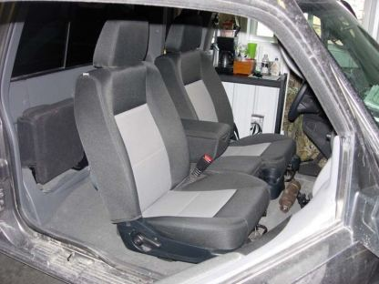 2010 - 2016 Ford Ranger 60/40 with Opening Console Seat Covers
