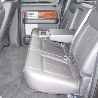 2011 - 2014 Ford F-150 Super Crew 60/40 with Armrest Seat Covers