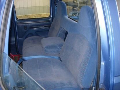 1994 - 1998 Ford F-250-450 Front Bench with Armrest Seat Covers