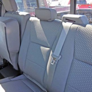 2015 - 2020 Ford F-150 XLT & XL Super Crew Rear 60/40 Seat Covers