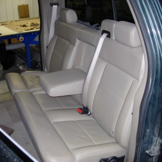 2004 - 2008 Ford F-150 Super Crew 60/40 Split Bench with Armrest Seat Covers
