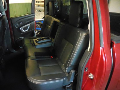 2016 - 2021 Nissan Titan 40/60 with Armrest Seat Covers