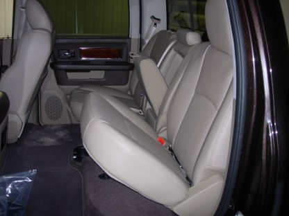 2011 - 2012 RAM Crew Rear 40/60 with Armrest Seat Covers