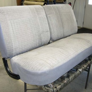 1987 - 1991 Ford F-250-450 50-50 Tops/Solid Bench Bottom Seat Covers