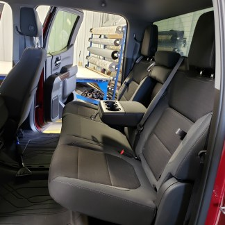 2019 - 2022 Chevy/GMC Crew Cab Rear 60/40 with Arm & Storage Seat Covers