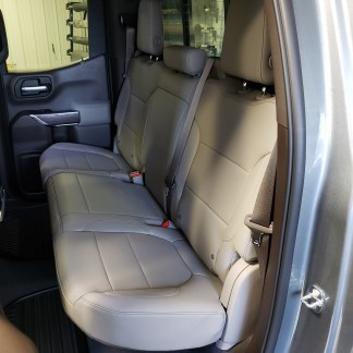 2019 - 2022 Chevy/GMC Double Cab Rear 60/40 Seat Covers