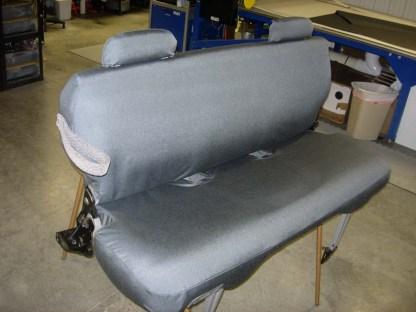 1995 - 1999 GMC Yukon 3rd Row Bench Seat Covers