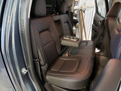 2015 - 2022 GMC Canyon 60/40 with Arm Seat Covers