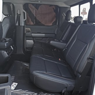 2021-2022 Ford F-150 Super Crew Rear 60/40 with Armrest Seat Covers