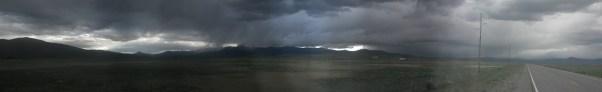 Panorama outside Lima, MT.