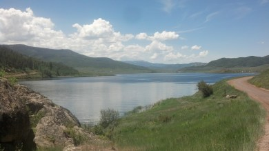 Just another pretty lake, kinda getting tired of good scenery.