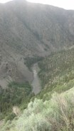 The Mighty Colorado River. It was super hot in Radium so I went swimming in the Colorado River. Outside 97, river 62.