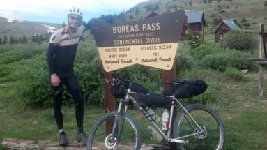 The pass between Breckenridge and Como. With Jeff Mullen.