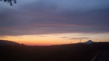 Sunrise outside Abiquiu