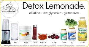 detox lemonaide
