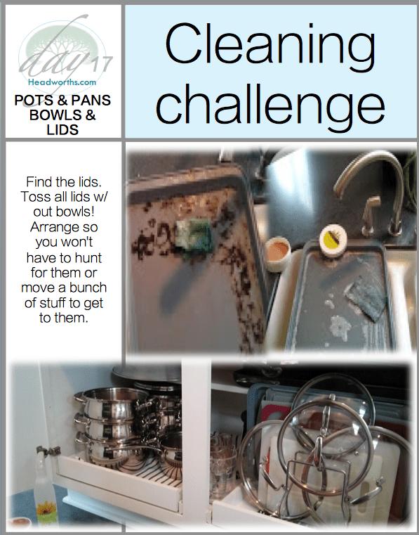 GET CLEAN CHALLENGE day 17