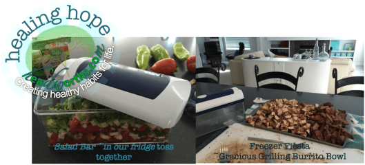 food chopper produce and meat