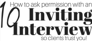 10 inviting interview