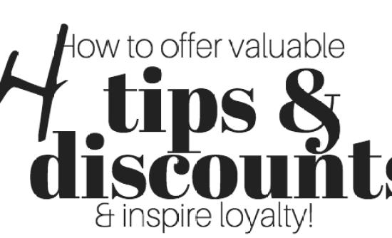 14 tips & discounts