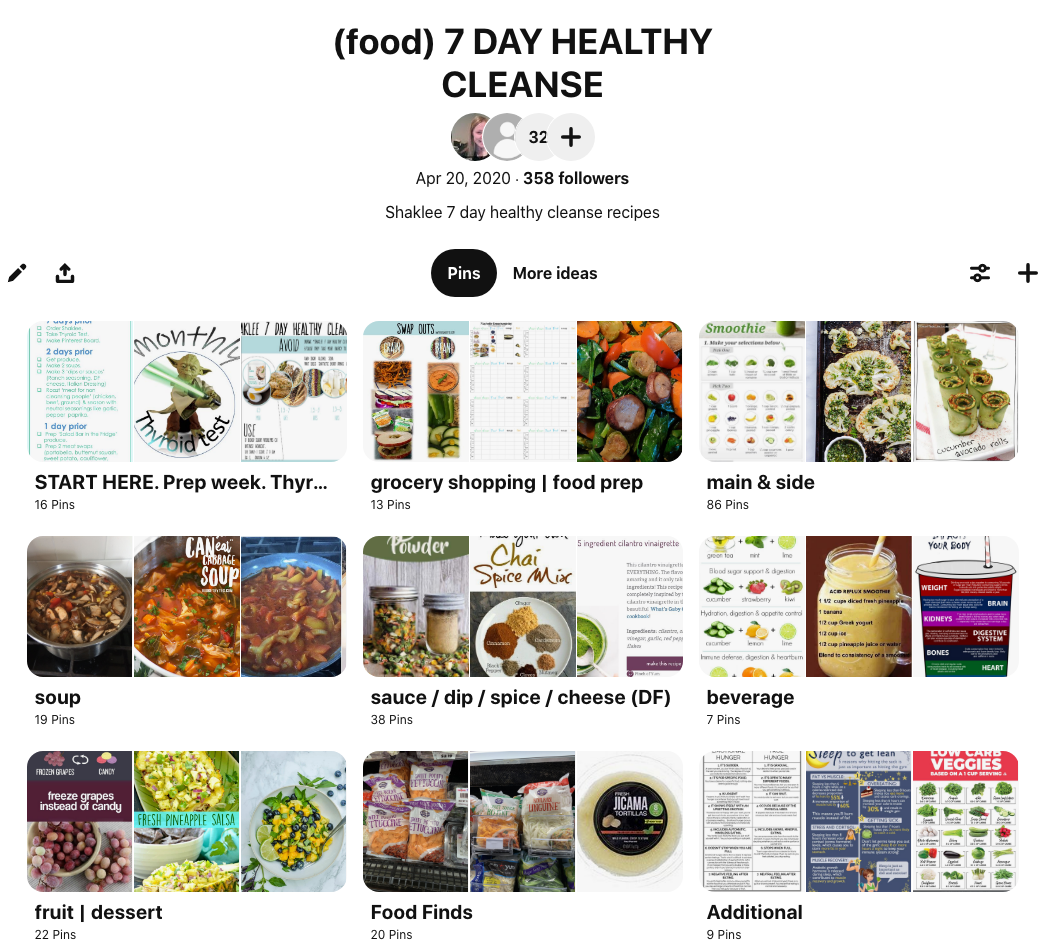 shaklee 7 day healthy cleanse recipes