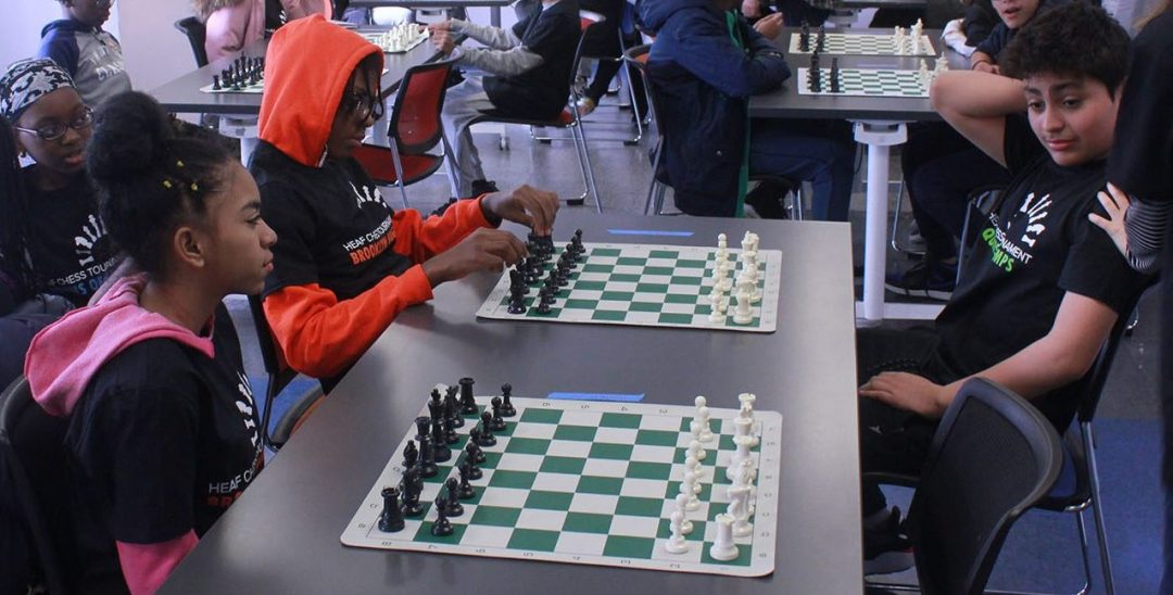 HEAF students participate in a chess tournament