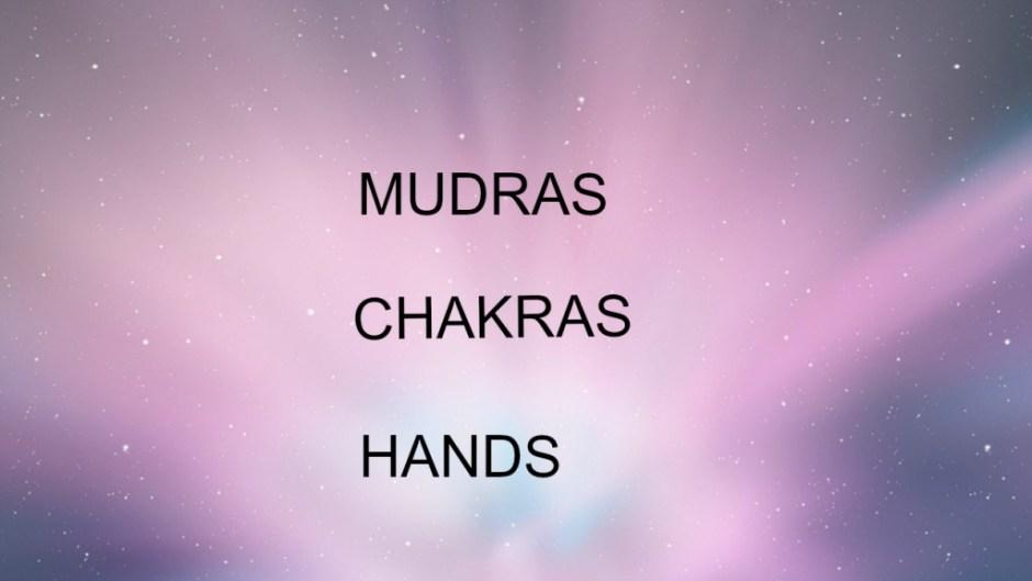 chakras mudras