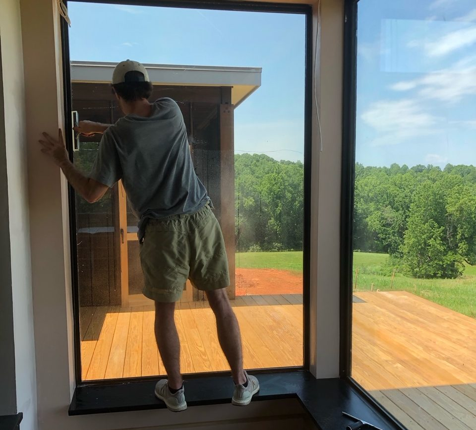 How to install window film at home