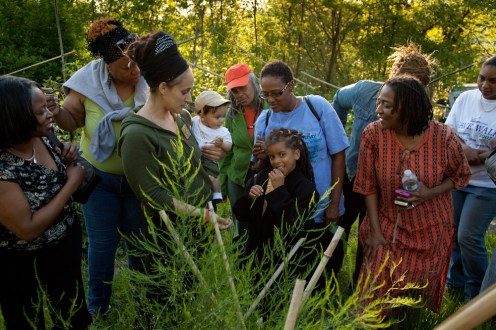 Eve tour of Healcrest Community Farm