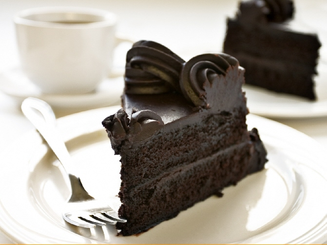 Chocolate-Cake-with-Coffee