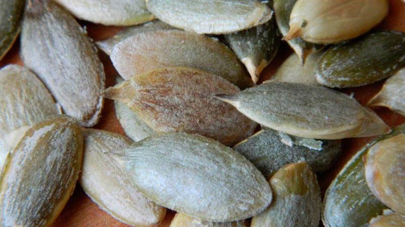 сколько калорий в тыквенных семечках