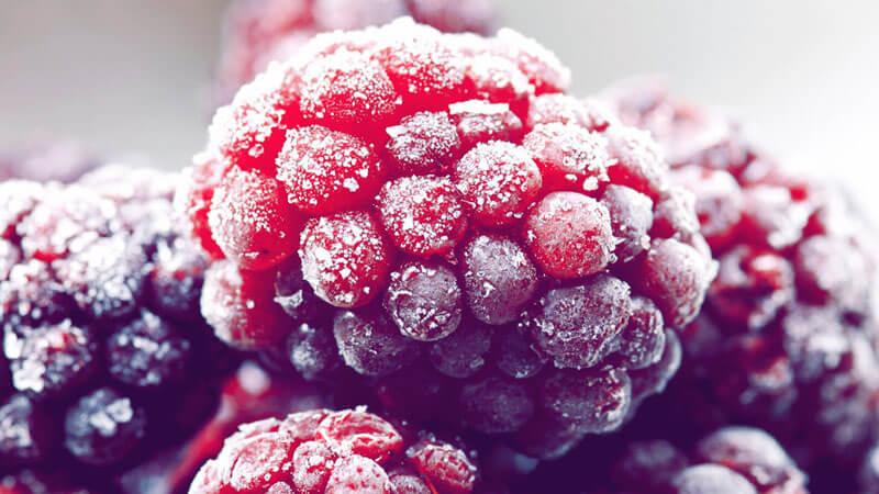 замороженная малина